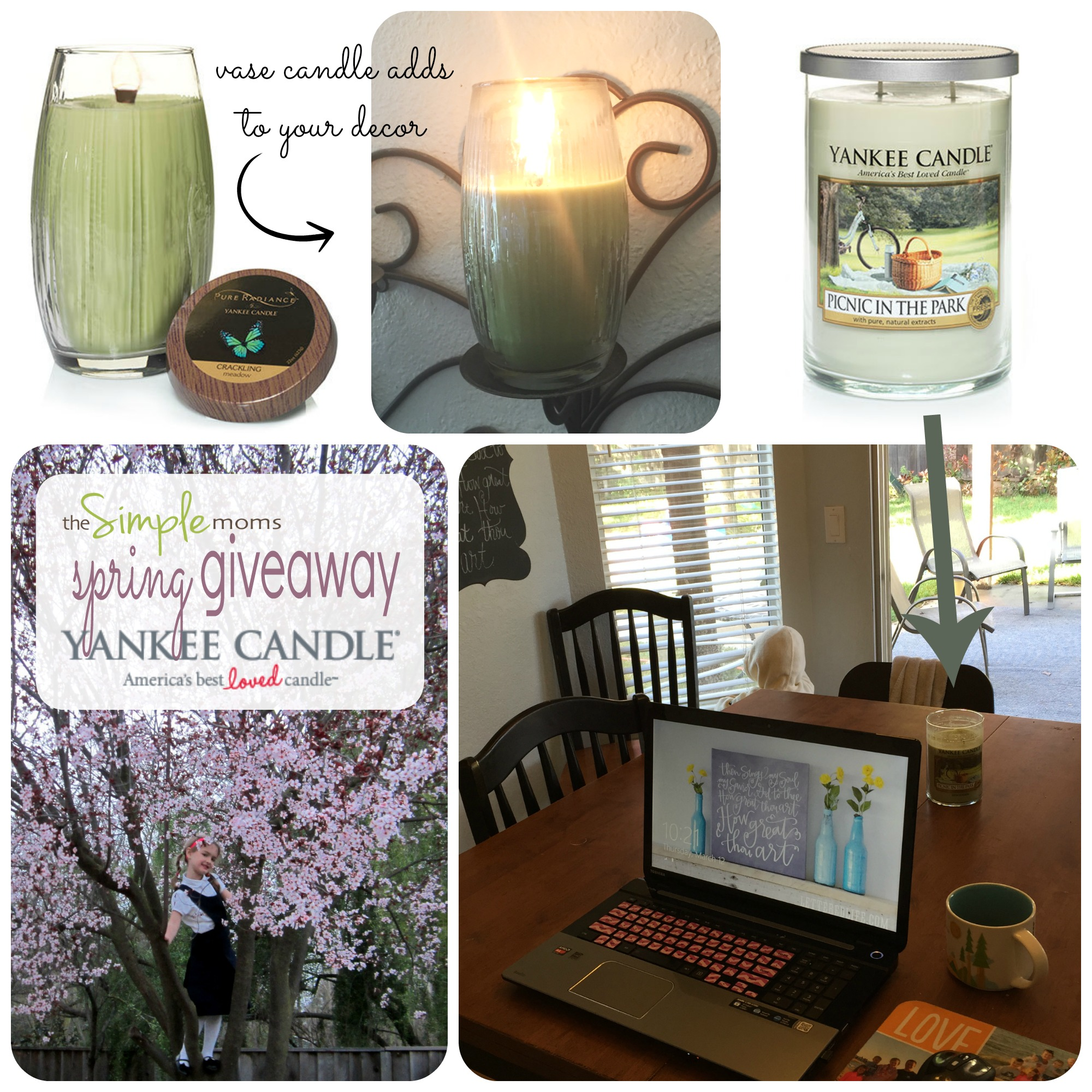 yankee candle spring collection