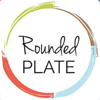 rounded plate