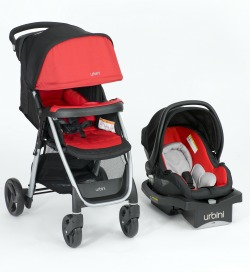 Urbini Emi Travel System_Red small
