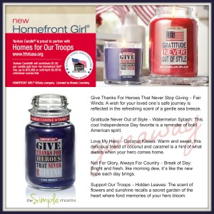 homefront girl yankee candle