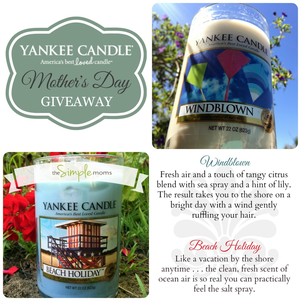 yankee candle summer scents make great mother s day. Black Bedroom Furniture Sets. Home Design Ideas