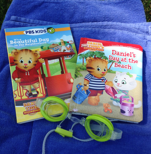 celebrate summer with daniel tiger :: dvd & book | the