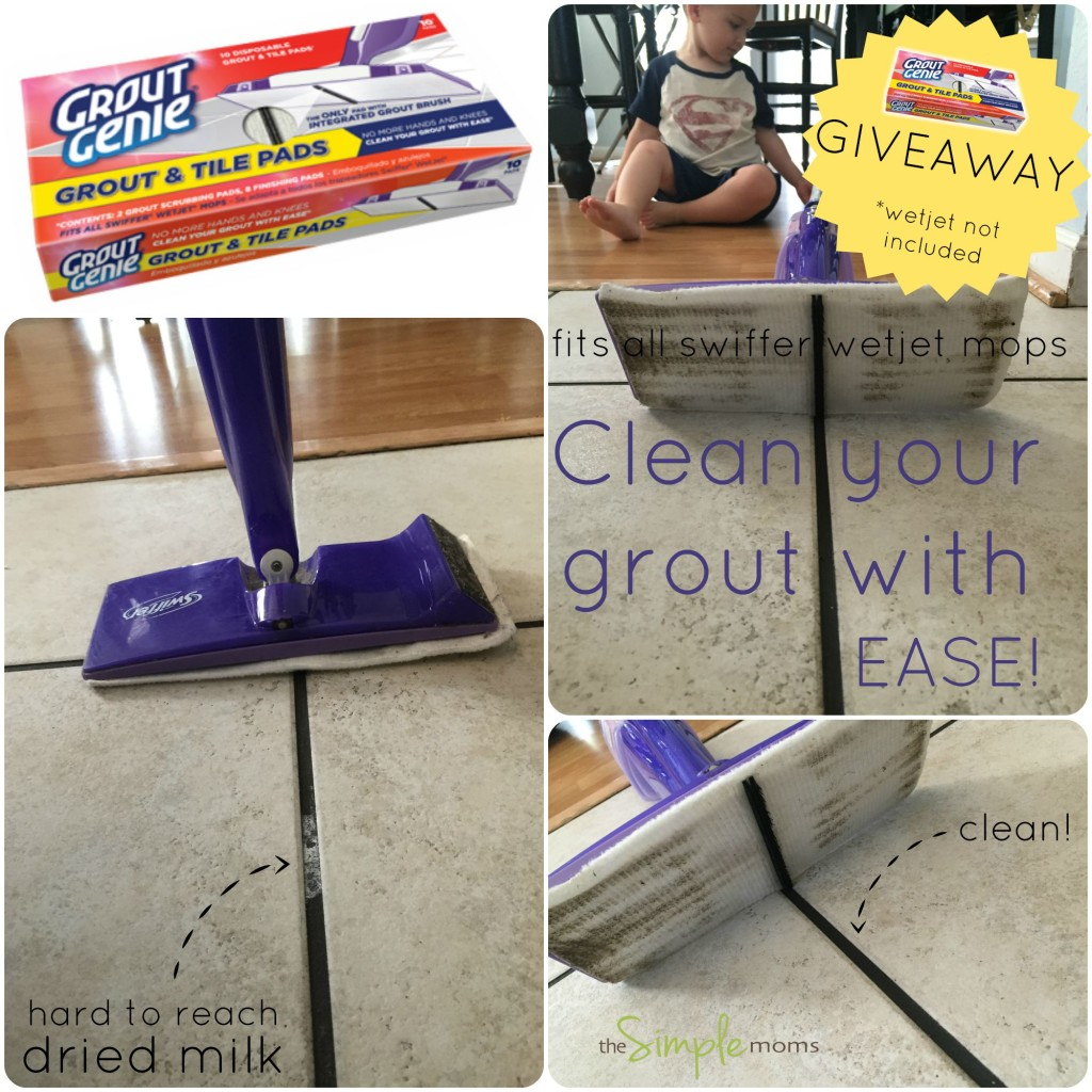 Grout Genie Grout Tile Pads That Fit Swiffer Wetjet