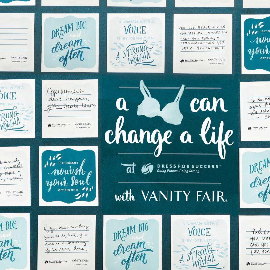 Vanity Fair and Dress for Success