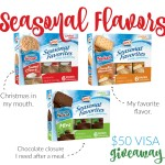 lance crackers + cookies :: limited edition :: seasonal flavors :: cracker + $50 VISA giveaway