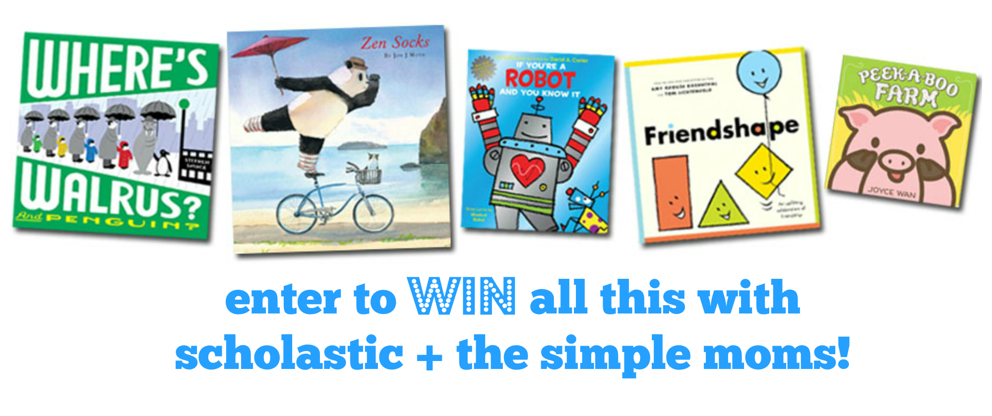 scholastic the story starts here giveaway
