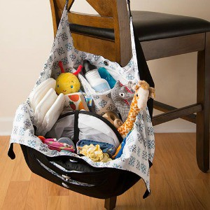 EquiptBaby diaper bag open