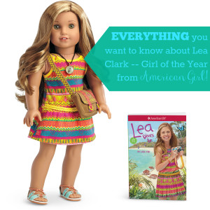 Everything you want to know about Lea Clark Girl of the Year from American Girl
