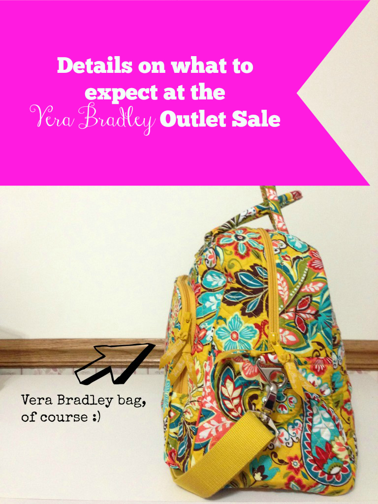 what happens at the vera bradley outlet sale