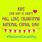 it is time to celebrate national cereal day #nationalcerealday