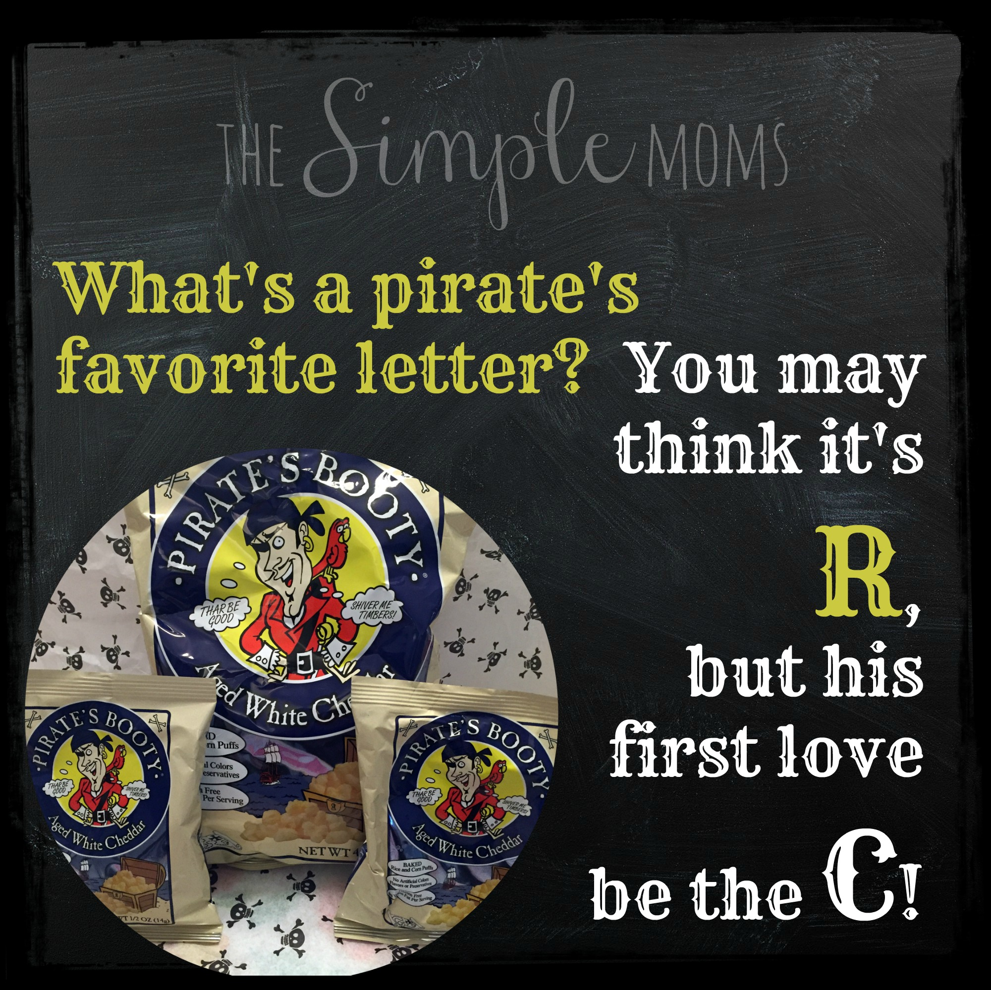 pirates favorite letter