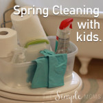 spring cleaning with kids :: we have the secrets to success