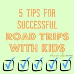 5 tips for successful road trips with kids