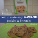 how to make easy gluten free cookies and brownies