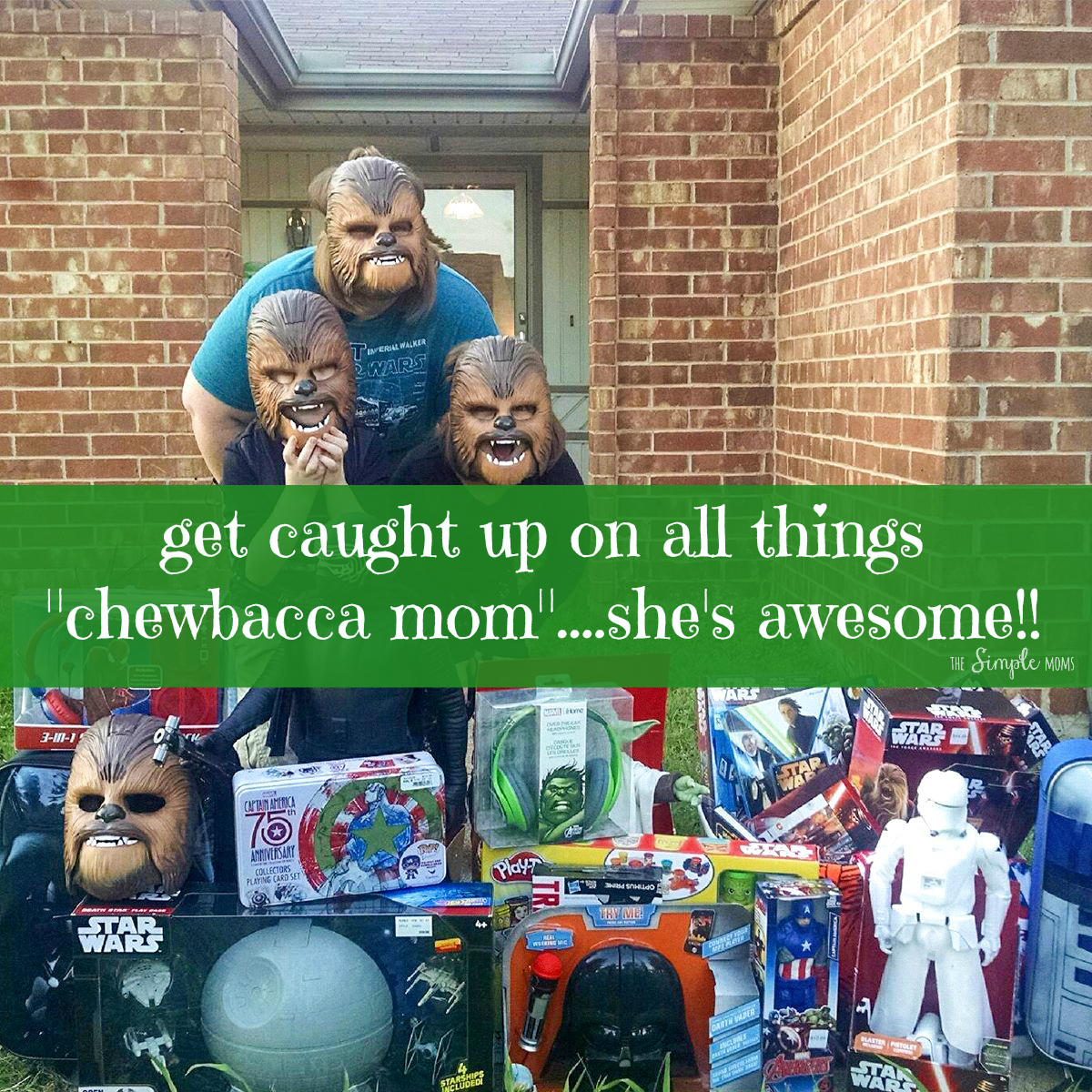 Chewbacca Mom is awesome