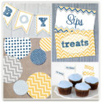 minted :: baby shower décor :: $150 giveaway