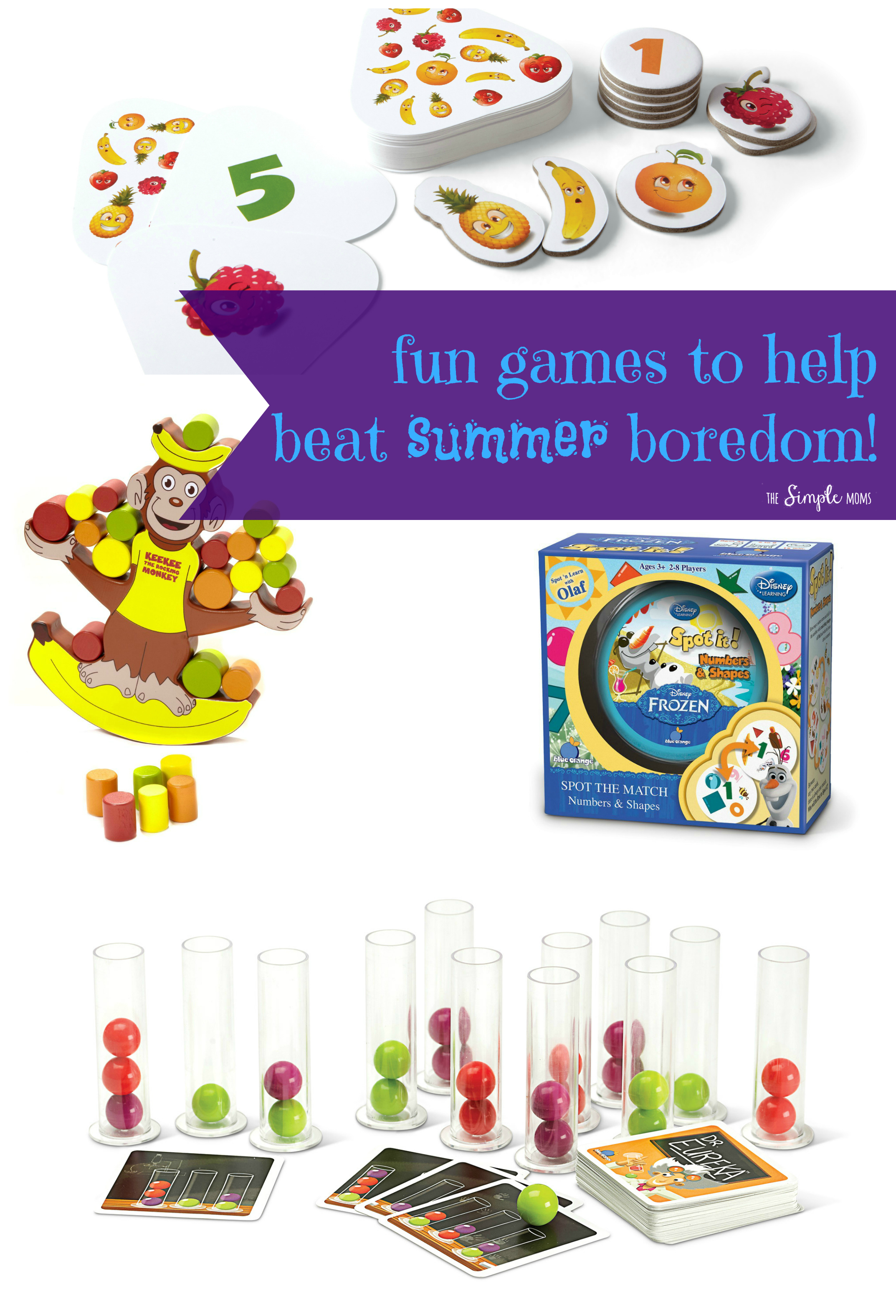 Fun Games to Beat Summer Boredom