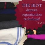 the organizing technique that's saving my sanity
