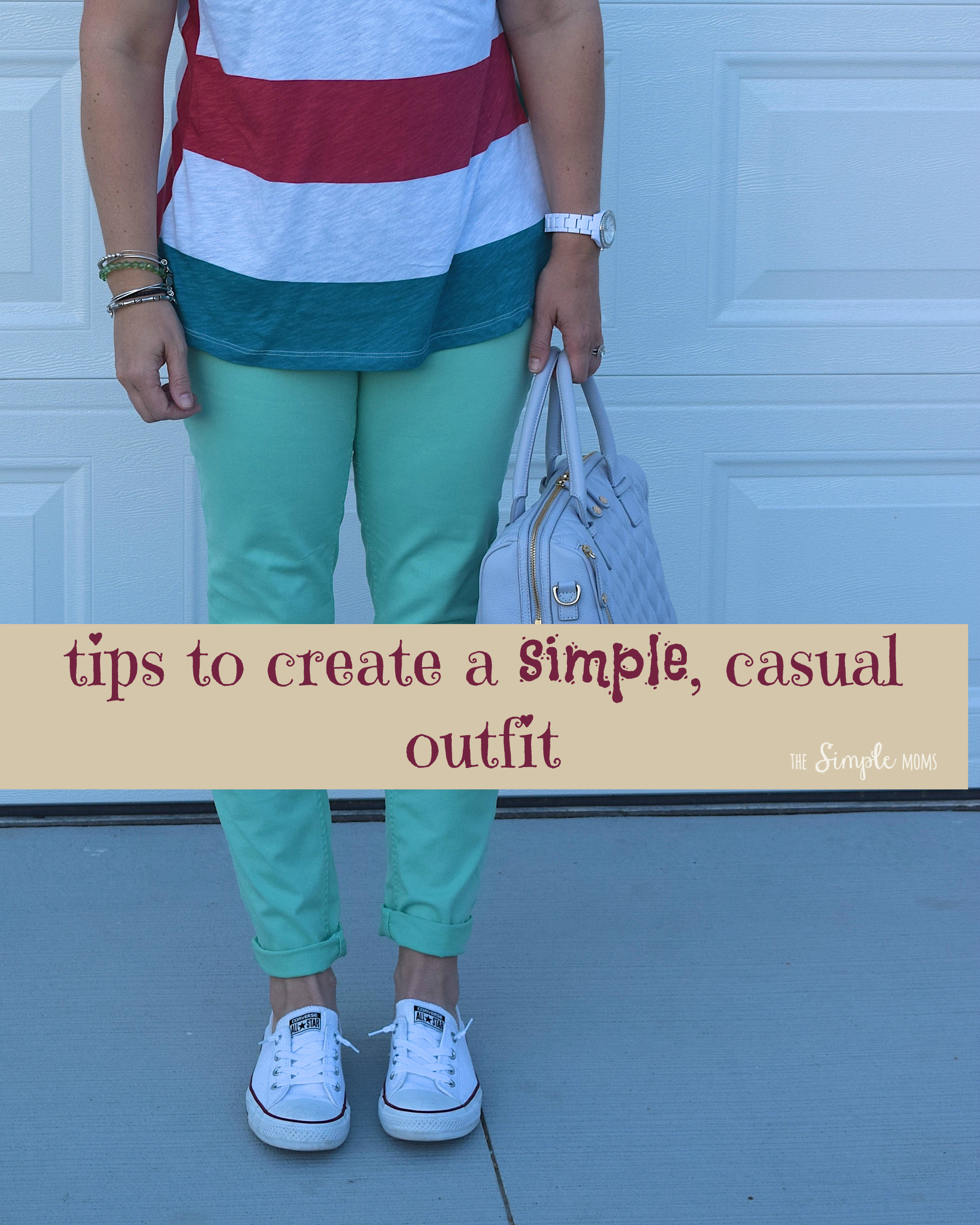 Tips to crate a simple, casual outfit