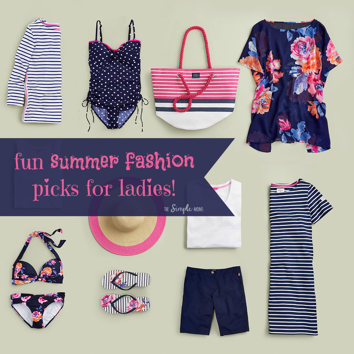fun summer fashion pics for ladies from joules