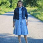 an adorable, fun and comfortable dress for under under $40, from chadwick's of boston