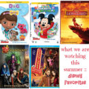 Disney DVD's for summer fun