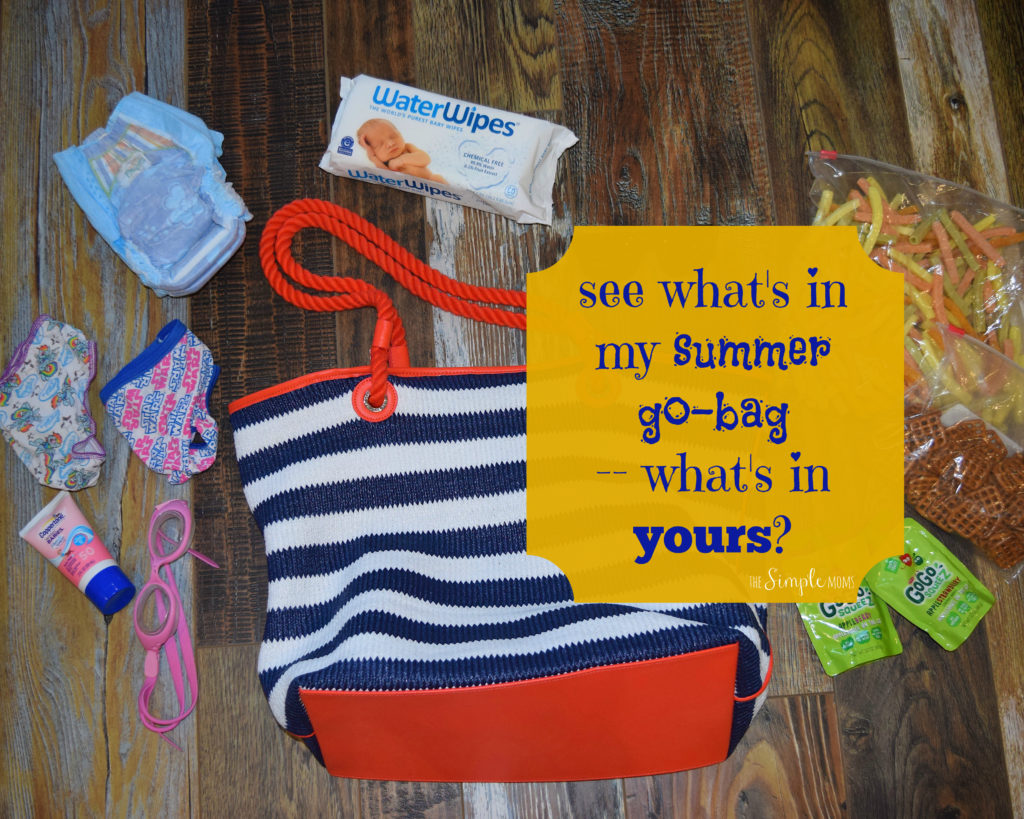see what's in my summer go-bag -- what's in yours