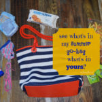 it's a target gift card giveaway + see what's in my summer go-bag — what's in yours? {#WaterWipesTarget #IC #ad}