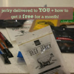 how to get jerky delivered to you, or your gift recipient, this holiday season + giveaway