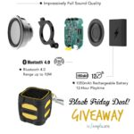 omaker :: portable bluetooth speaker :: BLACK FRIDAY low price :: #aSIMPLEchristmas giveaway