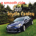 lovin' the smooth ride and lots of space with the 2017 Toyota Avalon #DriveToyota