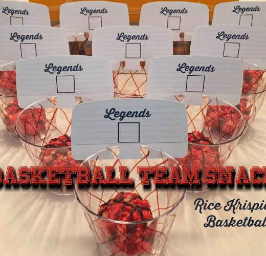 rice krispies basketballs