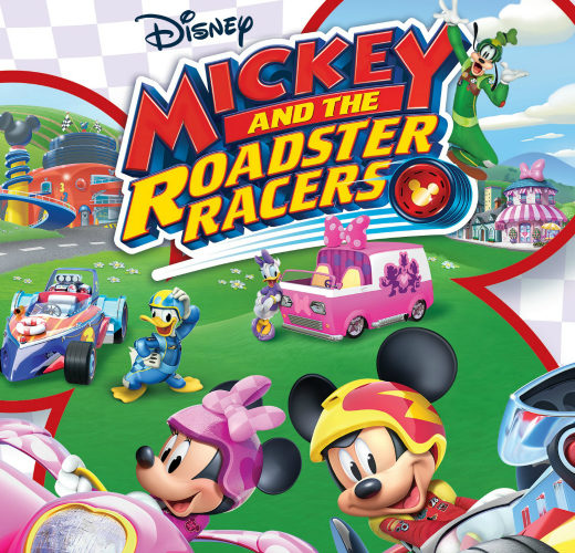 FI Mickey And The Roadster Racers Cover Art