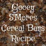 gooey s'mores cereal bars :: recipe