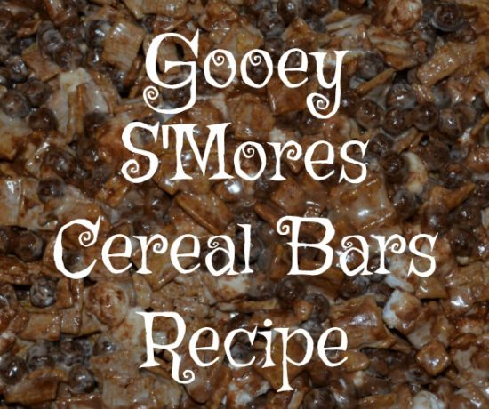 gooey s'mores cereal bars recipe featured image