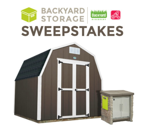 FI Backyard Storage Sweepstakes