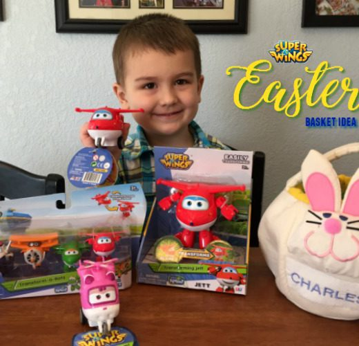 super wings easter basket idea