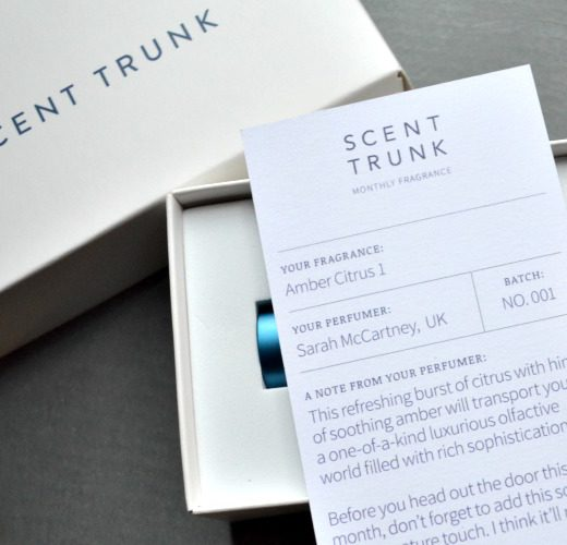 Scent Trunk personalized fragrance