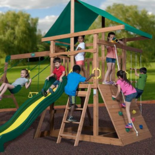 Wooden Swing Set Giveaway FI