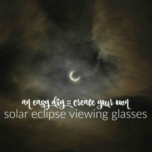 an easy diy create your own solar eclipse viewing glasses FI