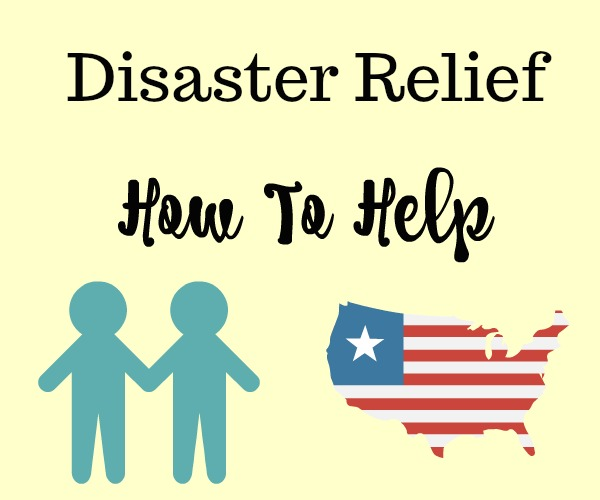 Disaster Relief how to help on The SIMPLE Moms