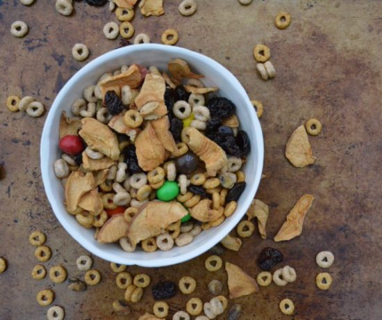 fall flavored cheerios snack mix recipe on The SIMPLE Moms
