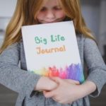 helping kids develop a growth mindset :: positive thinking with big life journal :: #aSIMPLEchristmas