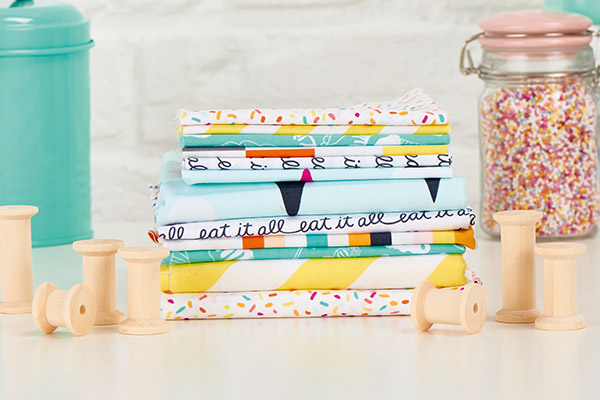 put your old fabric scraps to work :: 4 fun DIY craft projects