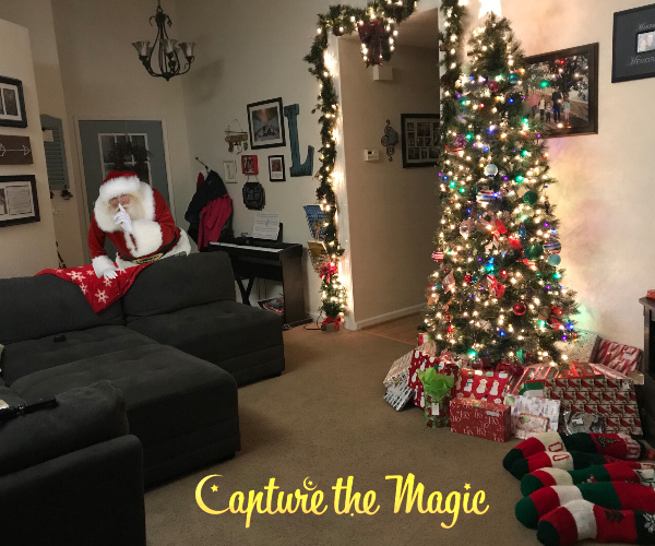 Capture Santa In Your Living Room Capture The Magic App The