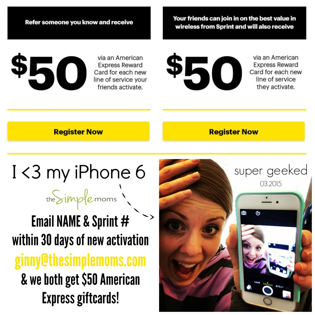 New To Sprint Thinking About Switching To Sprint 50 American Express Giftcard The Simple Moms
